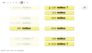 spanish vocabulary more basic parts of the body intelengua