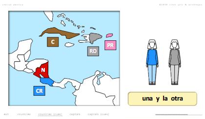 steven getz intelengua spanish powerpoint de dónde es with maps central america