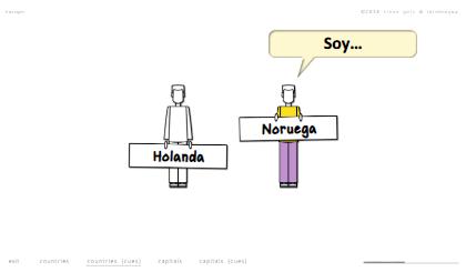 steven getz intelengua spanish powerpoint de dónde es with signs europe