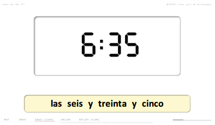 steven getz intelengua spanish powerpoint time qué hora es on the 5s
